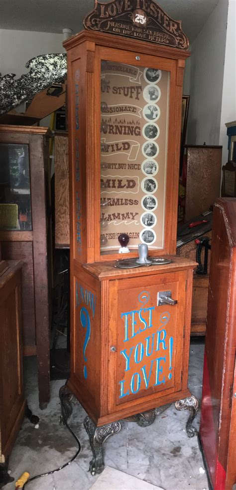 Test Your Personality Love Tester Machine Gameroom Show