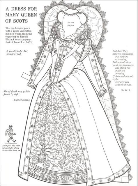 dress picture   doll book