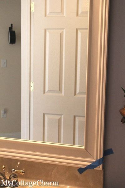 How To Make A Frame For A Bathroom Mirror by How To Build A Frame For A Mirror Ideas For The House In