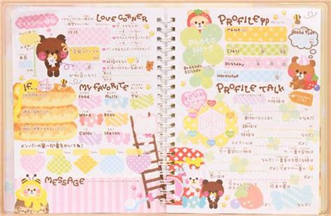 cute bears pancakes coffee notepad for friends diary, Memo Pads, Stationery Shop modeS4u