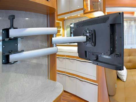 tv halterung wohnmobil novus sky 10n tv wandhalterung arretierbar 300mm