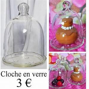 Cloche Verre Deco : etoile de rose ~ Teatrodelosmanantiales.com Idées de Décoration