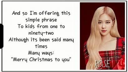 Blackpink Song Christmas Lyrics