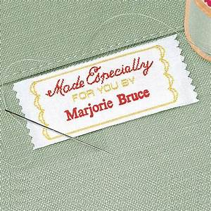 made especially personalized sewing label colorful images With custom made sewing labels