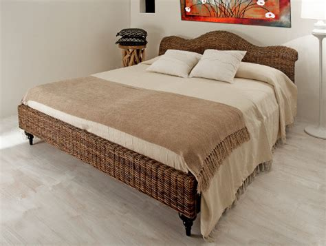 Rattanbett Latina Als Rattan Möbel Schlafzimmer