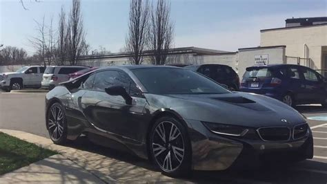 Bmw I8 Wrapped In Chrome Black Part 1