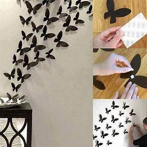 A simple DIY tip to add the beauty of black butterflies to ...