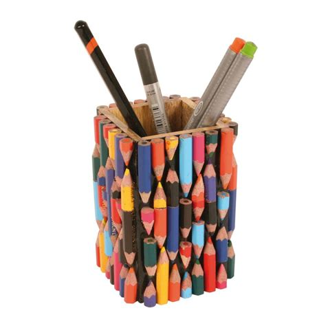 penpencil pot recycled crayons