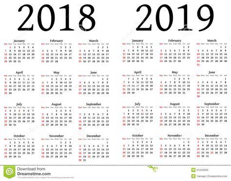 calendario stock de ilustracion imagen
