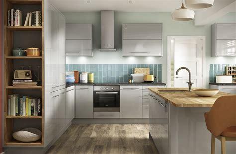 light grey gloss kitchen high gloss light grey kitchens eton range benchmarx 6991