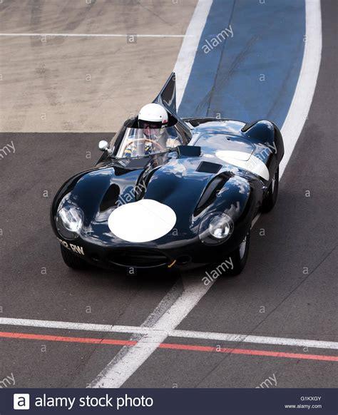 Jaguar D Type Sports Racing Car Stock Photos & Jaguar D