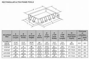 Frame Pool Rechteckig : ultra frame rechteckig intex ~ Frokenaadalensverden.com Haus und Dekorationen