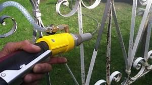 Décaper Peinture Sur Fer : d capage par a rogommage grille fer forg h2odecap ~ Dailycaller-alerts.com Idées de Décoration