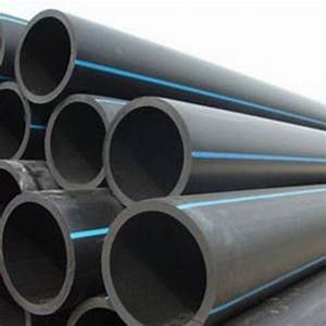 Rainson Black Rolled Hdpe Pipe  Thickness  2 Meter