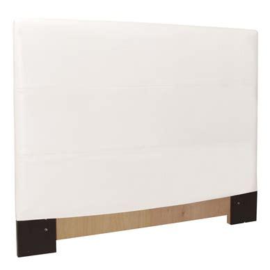 Headboard Slipcover King by Avanti White King Headboard Slipcover Howard Elliott