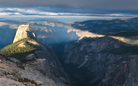 amazing view  dome yosemite national park photo mood