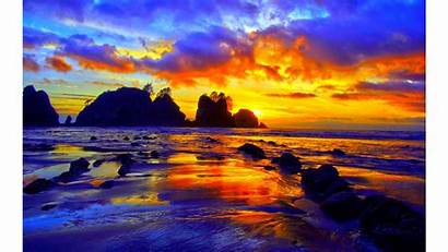 4k Colorful Wallpapers Sunset Backgrounds Tropics Sunsets