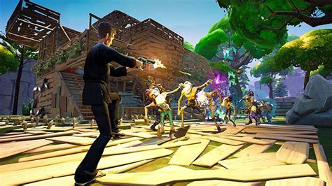 fortnite epic minecraft game games head survival its