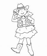 Cowgirl Coloring Pages Colouring Sheets Horse Books Baby Birthday Play Dolls Deariedollsdigis sketch template
