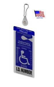 Handicapped Parking Placard Holder