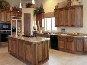 Kitchen Cabinet Wood Stain Colors