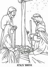 Jesus Coloring Birth Born Manger Luke Colouring Nativity Bible Ausmalbilder Scene Colorear Adult Weihnachten Kleurplaten Presepe Christ Nacimiento Learning Sheets sketch template