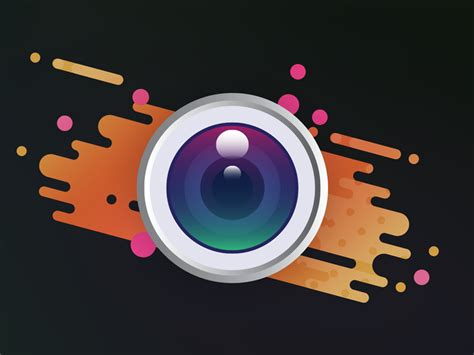 Camera Logo By Adeline O'moreau
