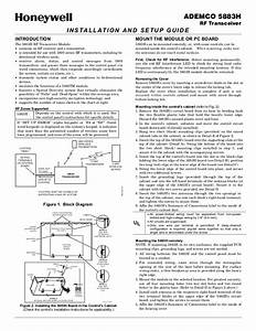 Ademco 5883h Manual Pdf