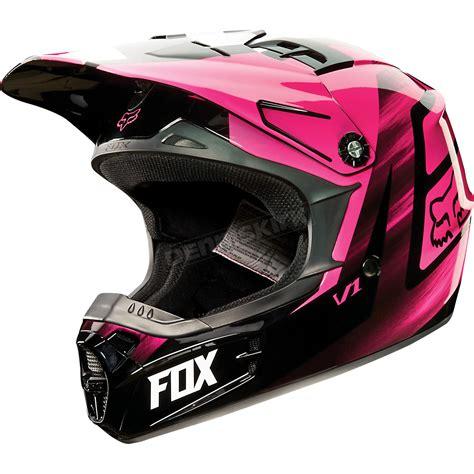 pink motocross helmet fox youth pink v1 vandal helmet 11948 170 s atv dirt