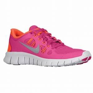 Nike Free 5 0 Girls Grade School Running Shoes