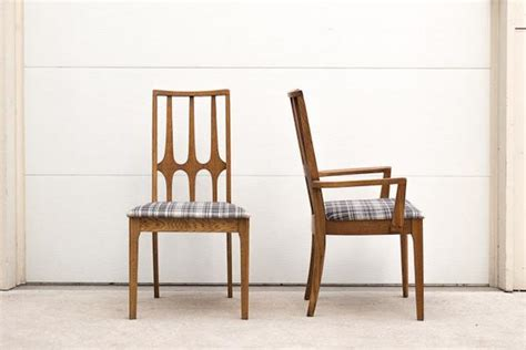 broyhill brasilia plaid dining chairs homestead seattle