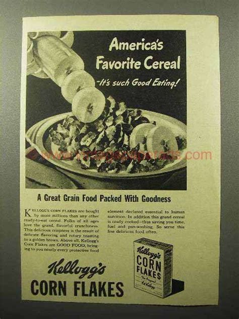 Corn Flakes Cereal Ads