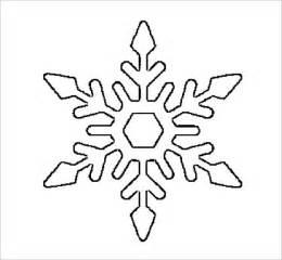 Free Printable Snowflake Stencils