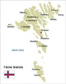 Faroe Islands Ferry Map