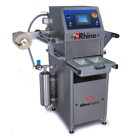 machine cuisine rhino 4 tray sealing machine for food and non food