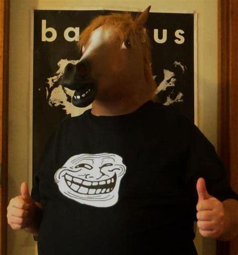 Horse Head Meme - horsehead troll horse head mask know your meme