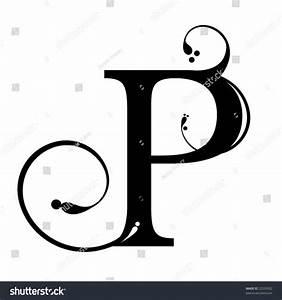Letter P Stock Vector Illustration 22533502   Shutterstock