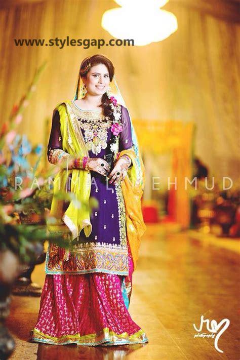 mayun bridals makeup  dresses designs   trends