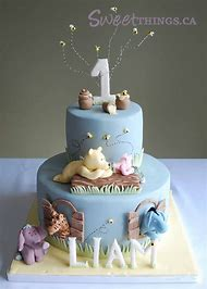 Baby Boy 1st Birthday Cake Ideas