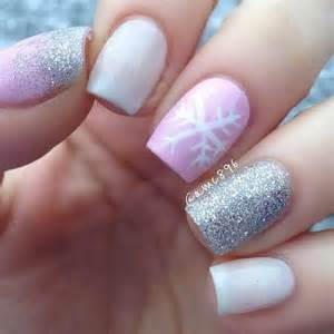 Lovely pink and white nail art designs