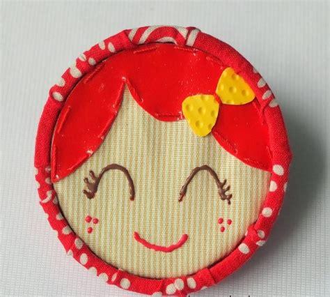 Stand Galon Unik tutorial membuat pin atau bros jilbab dari tutup galon