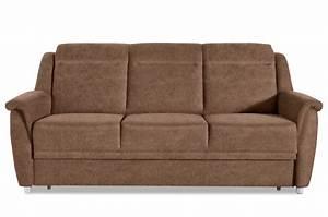 Sofa Zum Halben Preis : 3er sofa mit schlaffunktion braun mit federkern sofas zum halben preis ~ Eleganceandgraceweddings.com Haus und Dekorationen