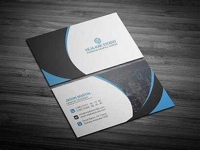Card Business Templates Psd Corporate