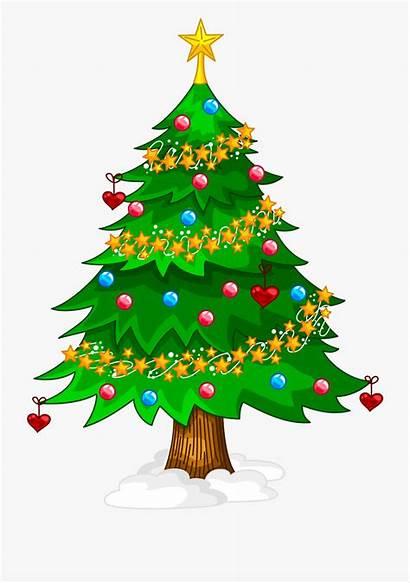 Tree Christmas Cartoon Clipart Clip Clipground Help