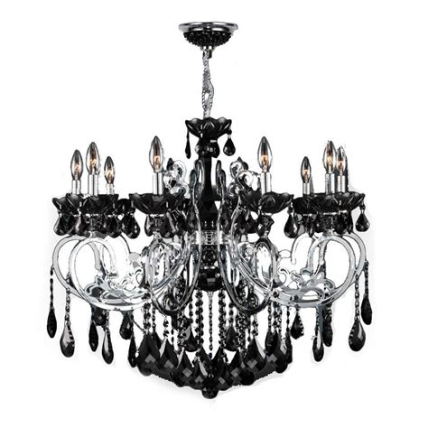 hton bay theresa chandelier hton bay 6 light chrome theresa chandelier with