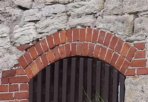 Gewölbebogen Aus Ziegelstein