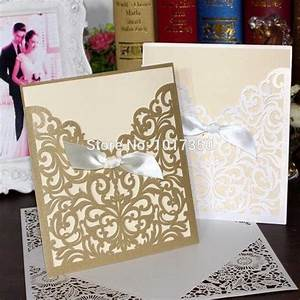 online get cheap gold wedding invitations aliexpresscom With cheap gold and white wedding invitations