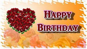 Happy Birthday My Dear Sweet Heart - Video Greeting Card ...