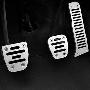 Stainless Manual Car Accelerator Pedal Set Car Gas Brake