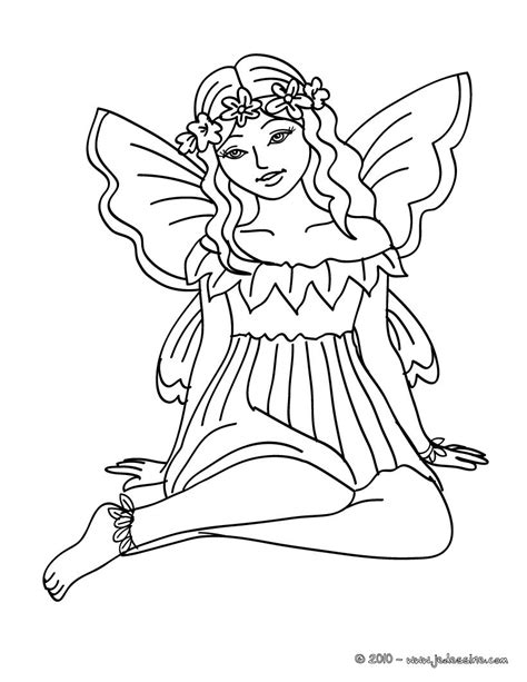 coloriages coloriage fee 224 imprimer fr hellokids